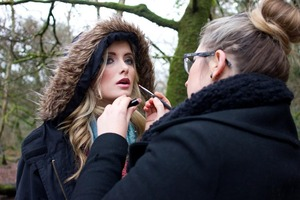 lippy touch up  photographer: Maria dragan