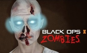 Black Ops 2 Zombie Makeup Transformation