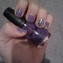 my awesome purple nails