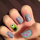 monster inc nails!