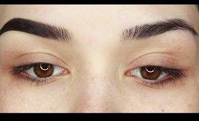 Updated Eyebrow routine