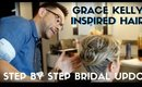 L.A. BASED WEDDING ARTIST GRACE KELLY INSPIRED HAIR DEMO STEP BY STEP- karma33