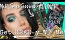 MELT SMOKE SESSIONS PALETTE + ACOWAR | Get READ-y With Me 📚💄