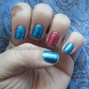OPI Excuse Moi and Deborah Lippmann Just Dance