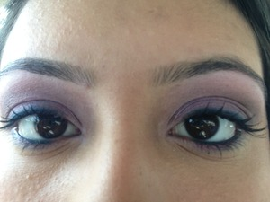Eye make up done at Macy's for free