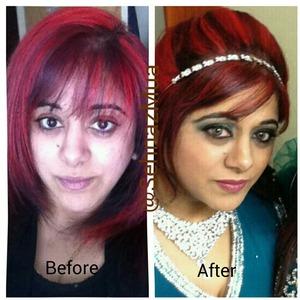 Wedding Makeup & Hair by me