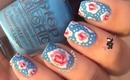 Cath Kidston Inspired Vintage Nails by The Crafty Ninja