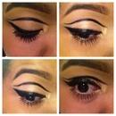 Cat eye with a twist! 😍