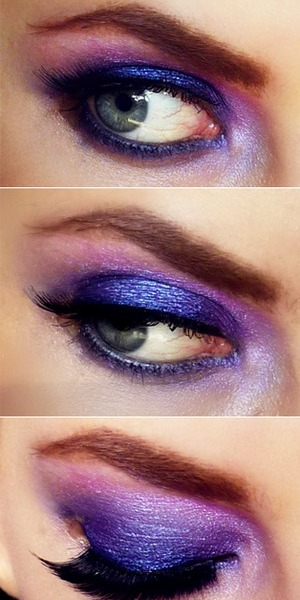 Fall in Love with Color Series - Phlox  Inspired by fashion sketches for F/W11  See More @ http://pigmentsandpalettes.blogspot.com/