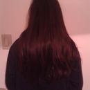 my cousins hair