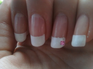 white manicure