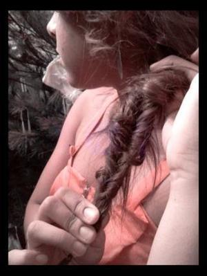 my first time trying out a fishtail on myself