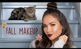 Warm Tones Fall Makeup Tutorial | Maryam Maquillage