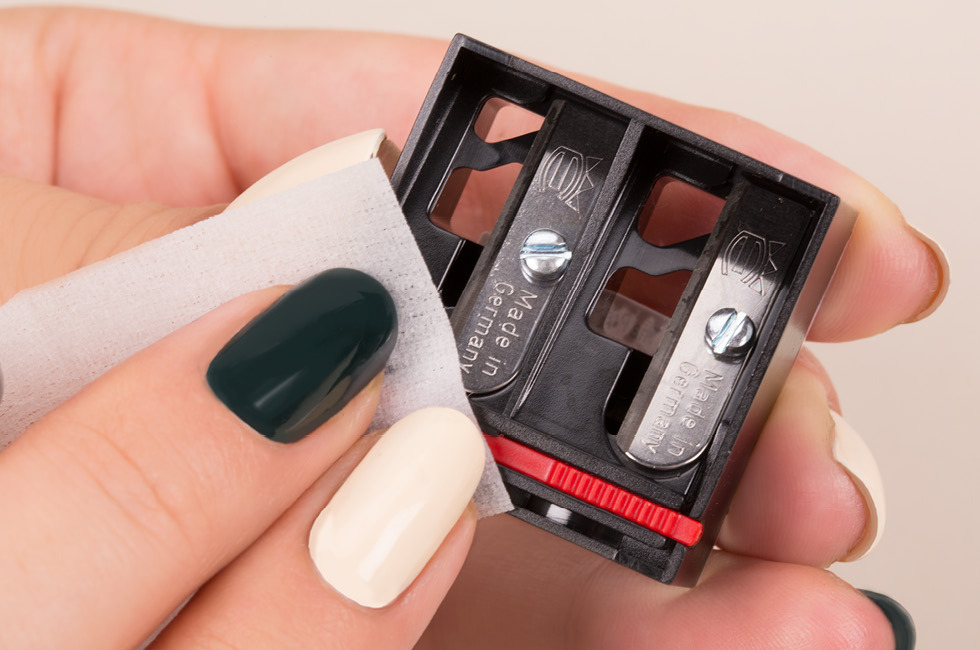 How to Sanitize Your Makeup Pencil Sharpener | Beautylish