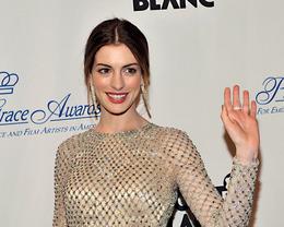 Anne Hathaway Makeup, Princess Grace Awards Gala