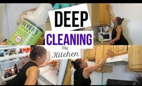 Clean With Me | Let's Deep Clean My Kitchen | Power Hour | Stay At Home Mom