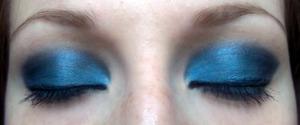 Blue smoky eye :)