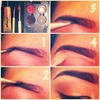 how I fill my brows