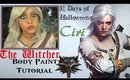 31 Days of Halloween: Ciri from The Witcher Tutorial (NoBlandMakeup)