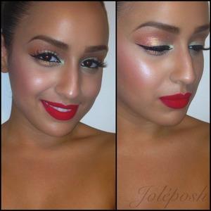 Jessie's Girl loose pigments + Mac's #ririwoo