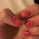 My random funky nails 👌