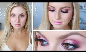 Chit Chat GRWM ♡ Sultry Sexy Hot Pink! ♡ Perfect For Prom!