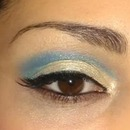 Cut-crease Barbie Blue
