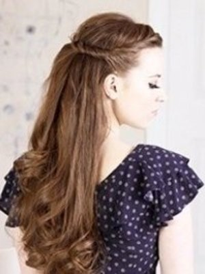 Cute hair styles for the first day of high school. | Beautylish