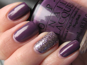 OPI's Dutch Ya Just Love OPI w/Sally Hansen's Big Money as an accent.