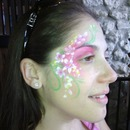 Face paint to have fun and match my tattoos at Busch Gardens