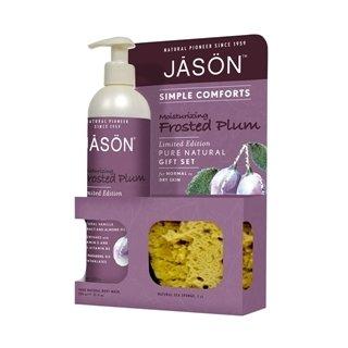 Jason Natural Cosmetics Moisturising Frosted Plum Gift Set