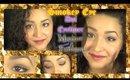 Smokey Eye and Golden Dot Eyeliner Makeup Tutorial (NoBlandMakeup)