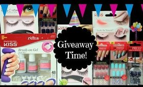 Giveaway Time! | Kiss and Broadway Nails