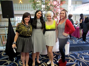 Jasmine, Christine, Leesha and I
