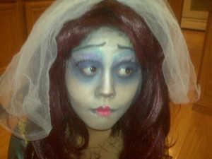 Tim Burton Corpse Bride look for Halloween