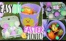 DIY Easter Picnic Basket- Quick, Easy & Affordable!
