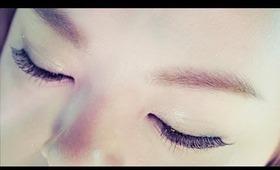 Easy Trick for Soft Korean Eyebrows/눈썹 메이크업