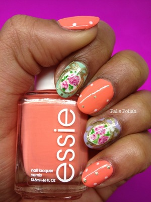 A perfect manicure for easter or spring time