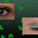 St. Patrick's Day Smokey Eye