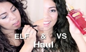 E.L.F. and Victoria's Secret Haul