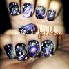 Galaxy Nail Art! 👽