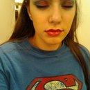 """Superman Inspired """"Halloween"""" Look"""