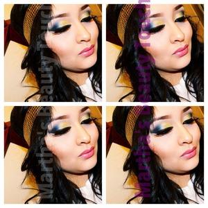 Makeup by me 😄😄😄😄