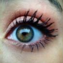 simply green eyes
