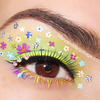 """Fantasy Florals"" Eye Makeup Art"