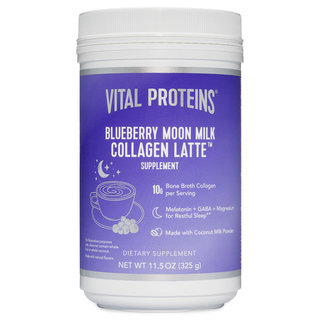 Blueberry Moon Milk Collagen Latte
