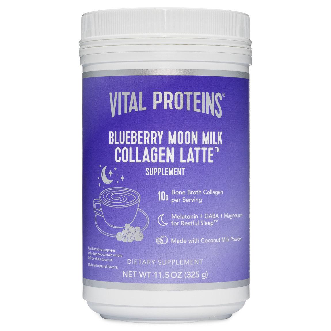 Vital Proteins Blueberry Moon Milk Collagen Latte product swatch.