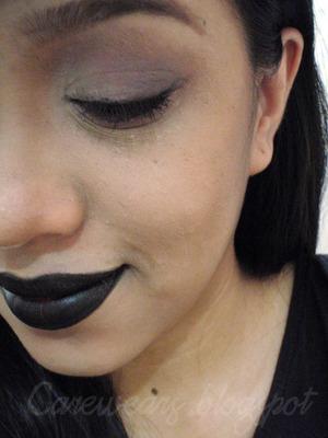 Vampire/gothic makeup