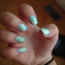 cute girly nails :)