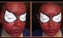 Spiderman Face Painting Tutorial (NoBlandMakeup)